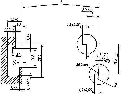 ГОСТ Р МЭК 60715-2003 Аппаратура распределения и управления низковольтная. Установка и крепление на рейках электрических аппаратов в низковольтных комплектных устройствах распределения и управления