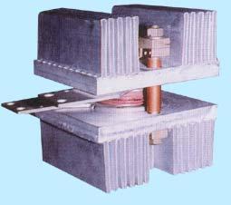Холодносварные ребристые охладители силовых полупроводниковых приборов