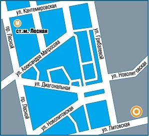 Санкт-Петербург, ул.Литовская 10