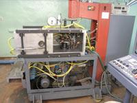 Многопозиционная установка диффузионной сварки контактной системы