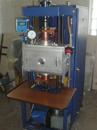 Специализированная установка диффузионной сварки в вакууме медных токоподводов вакуумных выключателей