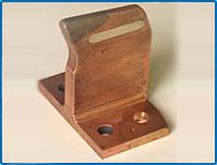 КОНТАКТНЫЙ НОЖ (приварка серебряной пластины и керритового наконечника)