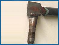 концы дроссельных перемычек (сварка сталь+медь)